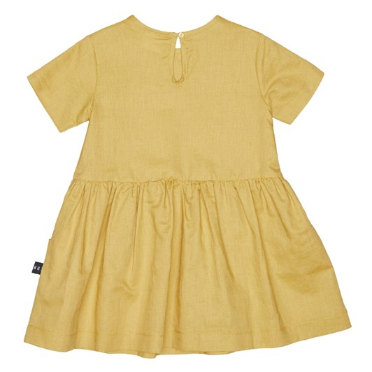 Huxbaby Mustard Darcy Dress