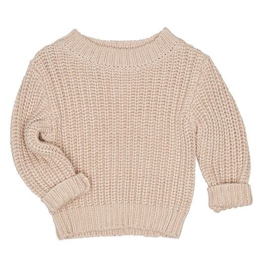 Huxbaby Biscuit Chunky Knit Jumper