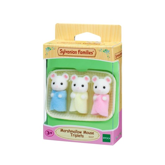 Sylvanian Families Marshmallow Mouse Triplets