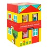Petit Collage Peek-A-Boo House Stacking -