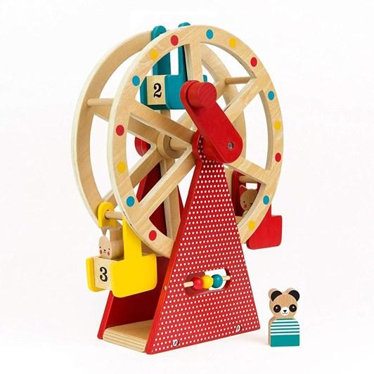 Petit Collage Carnival Playset Wood Ferris