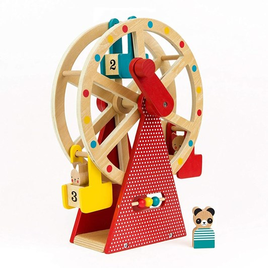 Petit Collage Carnival Playset Wood Ferris