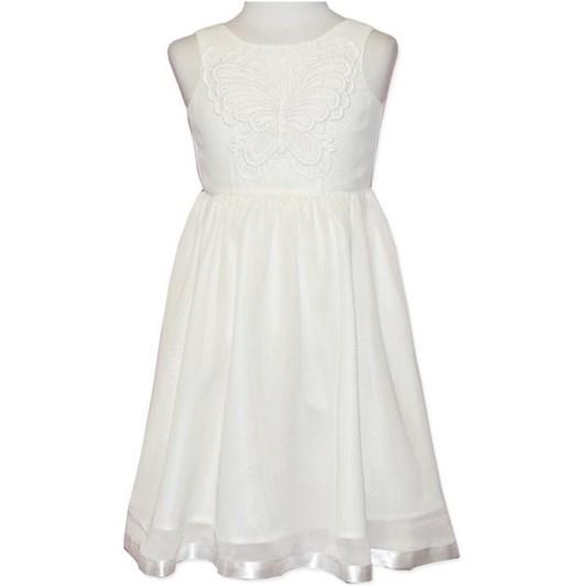 Candystripe White Dress