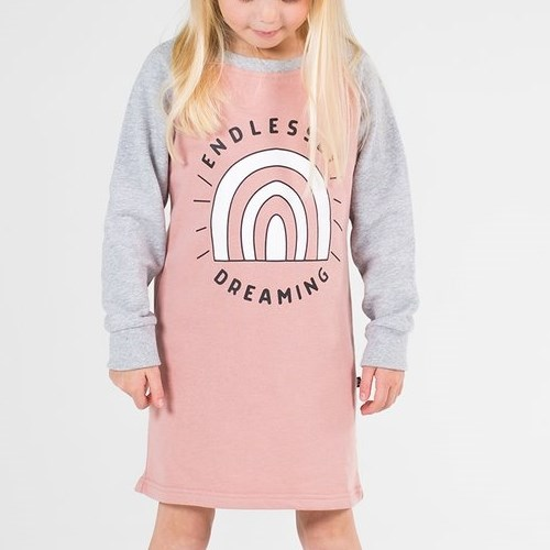 Hello Stranger Endlessly Dreaming Raglan Dress