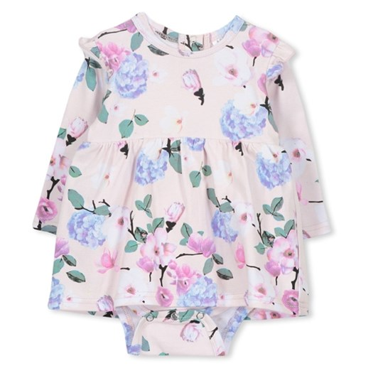 Milky Magnolia Baby Dress