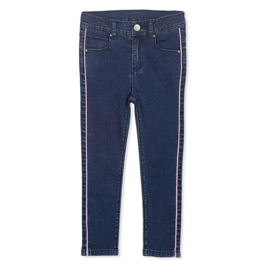Milky Side Pipe Jean