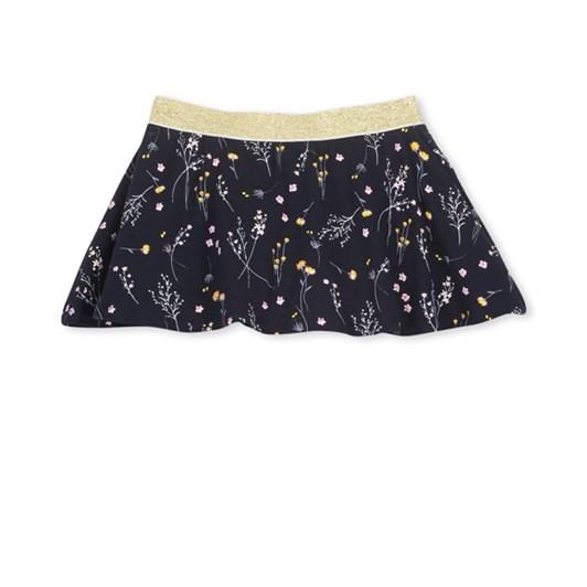 Milky Winter Floral Skirt