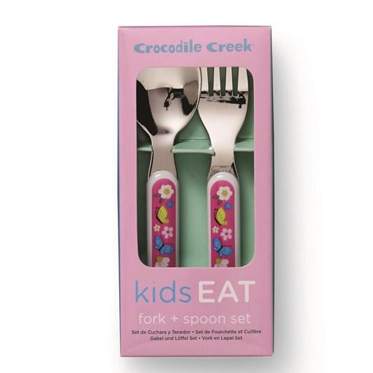 Croc Creek Cutlery Set Backyard Friends