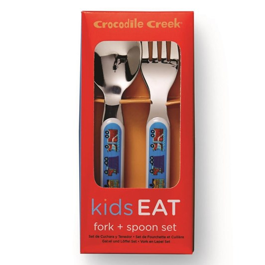 Croc Creek Cutlery Set Busy City