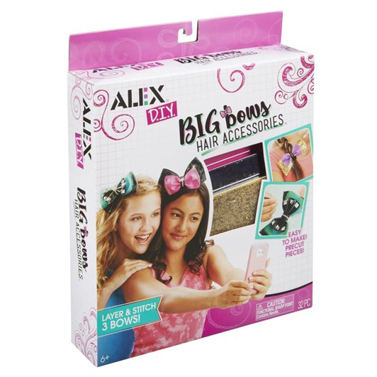 Alex Diy Big Bows Hair Accessories