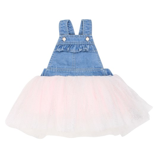 Fox & Finch Confetti Overall Tutu Dress