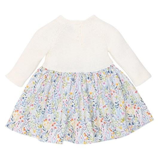 Bebe Olivia Knit Bodice Dress
