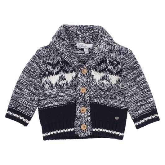 Bebe Boys Chunky Knit Cardigan