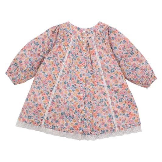 Bebe Liberty Yoke Dress With Lace