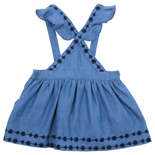 Bebe Viola Denim Pinny