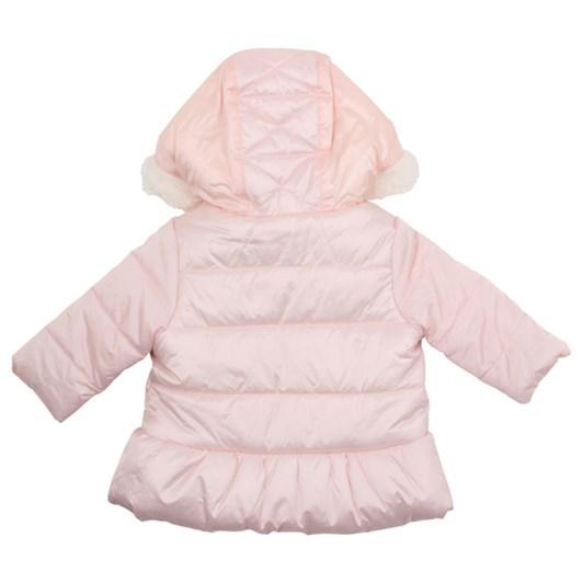 Bebe Girls Quilted Coat W Hood