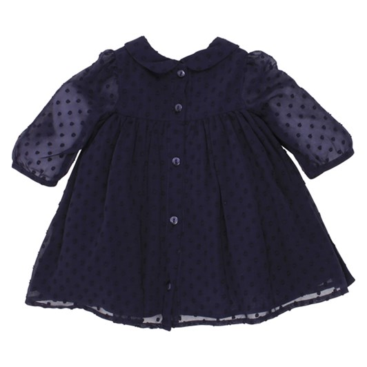 Bebe Dobby Chiffon Dress