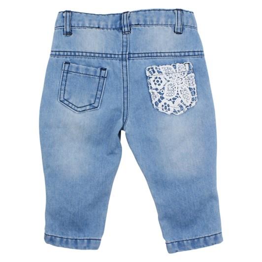 Bebe Lace Patch Jeans
