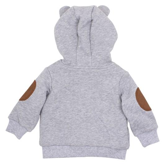 Bebe Oskar Bear Hooded Jacket