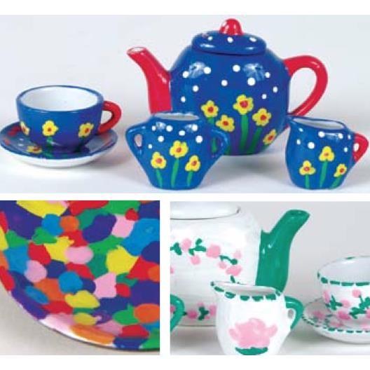 Spice Box Tea Time Paint & Pretend - na