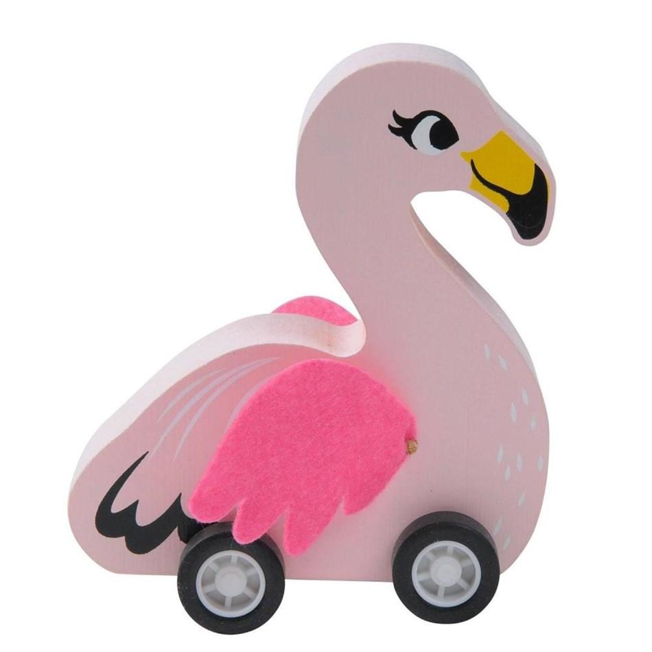 Tiger Tribe Pull-Back Birds - pink
