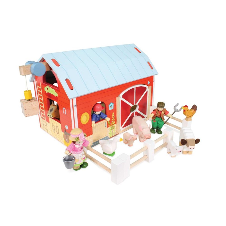 Le Toy Van Red Barn -
