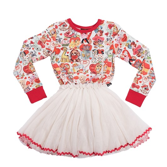 Rock Your Baby My Funny Valentine - Ls Circus Dress