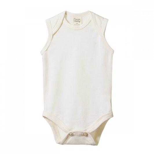 Nature Baby Merino Singlet Bodysuit