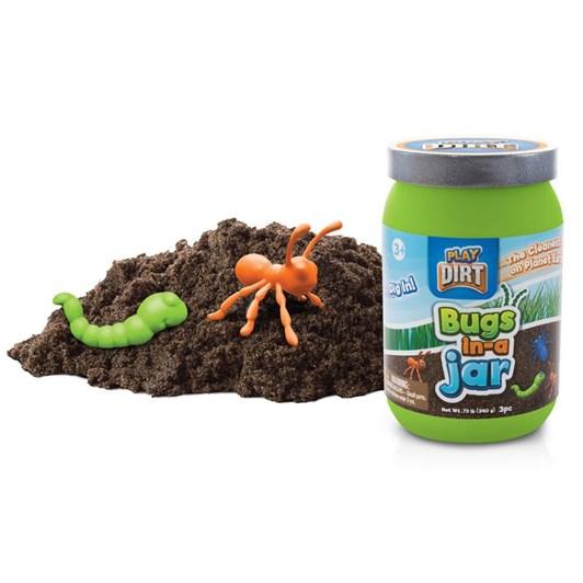 Dirt Bugs In Jar
