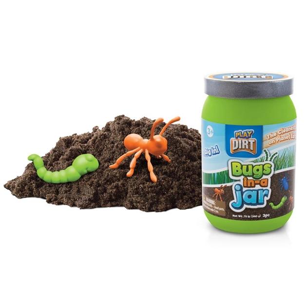 Dirt Bugs In Jar -