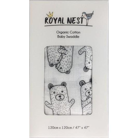 Royal Nest Bear Hug Swaddle