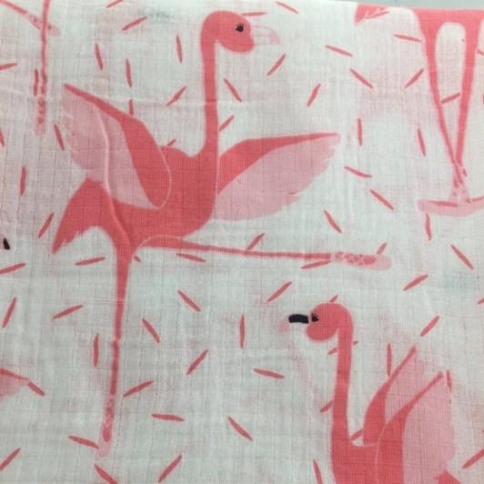 Royal Nest Flamingo Swaddle