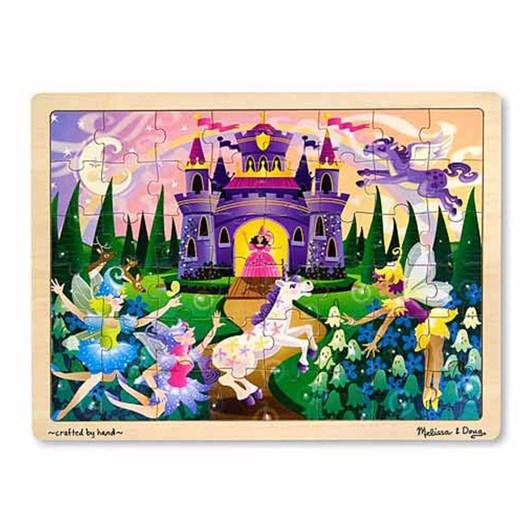 Melissa & Doug Fairy Fantasy Wooden Puzzle (48Pc)