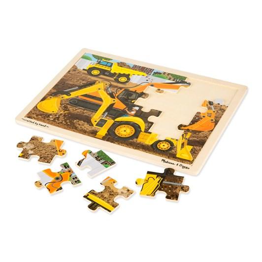 Melissa & Doug Construction Site Jigsaw 24Pcs