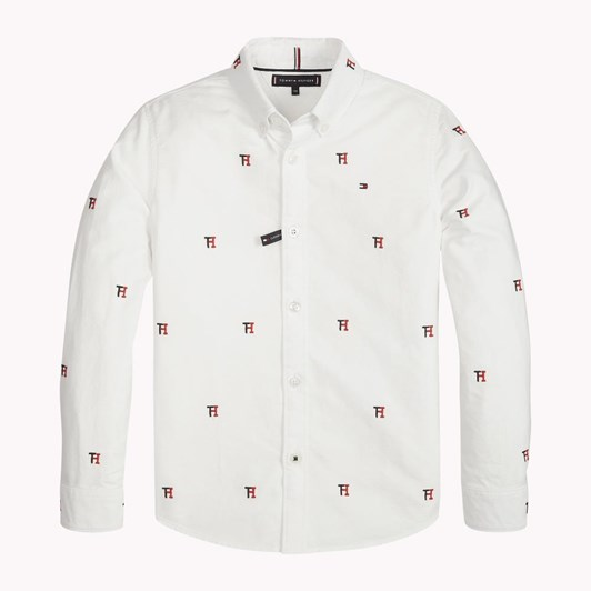 Tommy Hilfiger Allover Th Oxford Shirt L/S