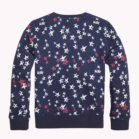 Tommy Hilfiger Flowing Stars Sweatshirt