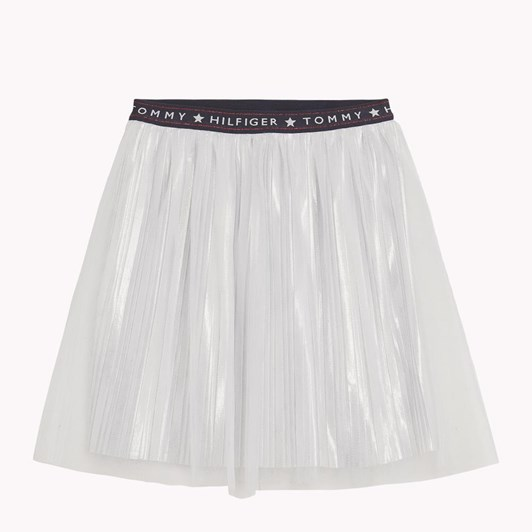 Tommy Hilfiger Statement Tulle Metallic Skirt