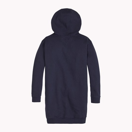 Tommy Hilfiger Essential Tommy Hoodie Dress Ls