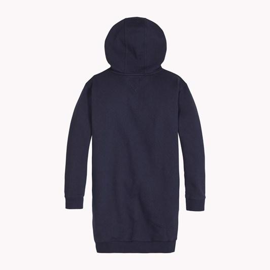 Tommy Hilfiger Essential Tommy Hoodie Dress Ls