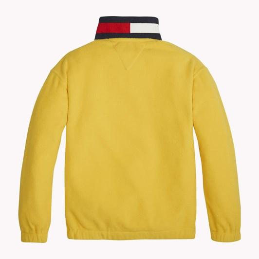 Tommy Hilfiger U Flag Collar Zip Sweatshirt