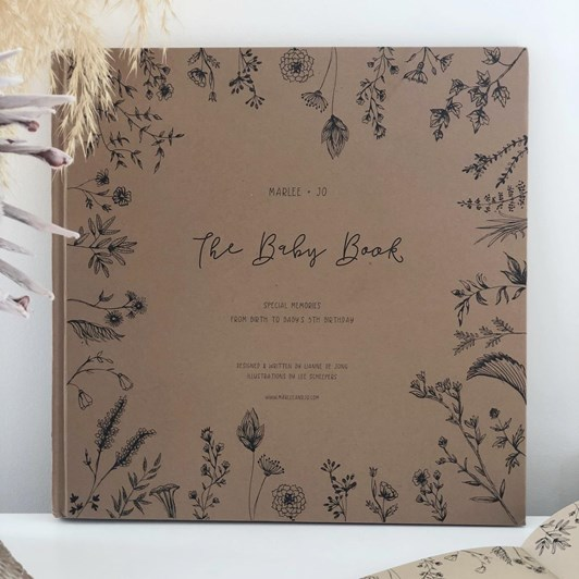 Marlee + Jo Nature Collection The Baby Book
