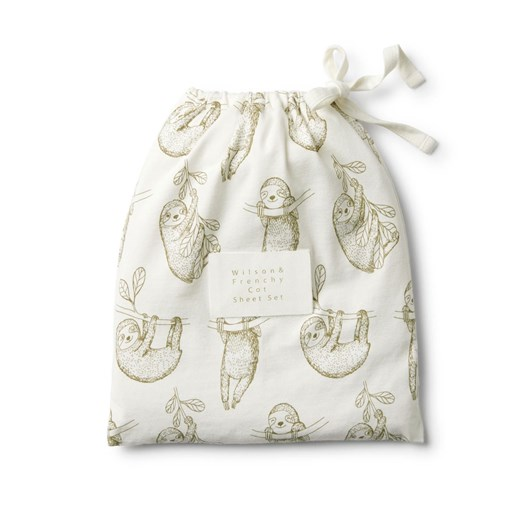 Wilson And Frenchy Cot Sheet Set