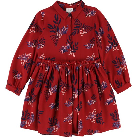 Carrement Beau Twill Floral Dress