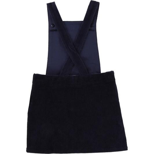 Carrement Beau Velvet Dungaree Dress