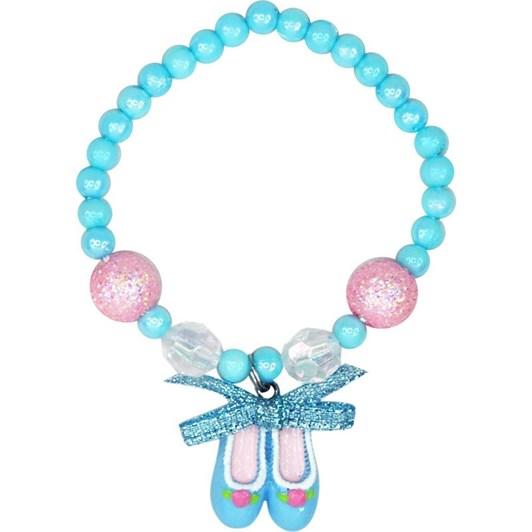 Pink Poppy Tutu Cute Ballet Shoe Bracelet