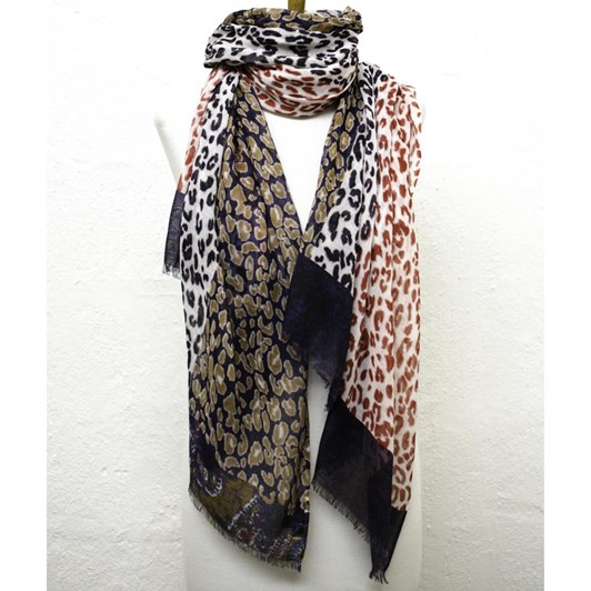 Directions Born To Be Wild Cotton Modal Scarf