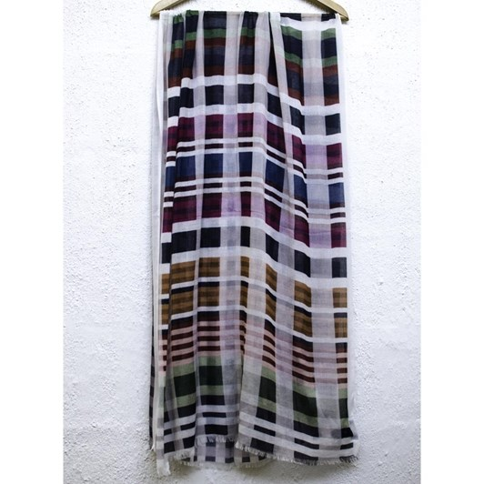 Directions Check Your Game Cotton Modal Scarf