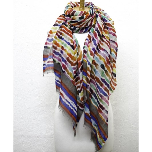 Directions Color My World Wool Scarf