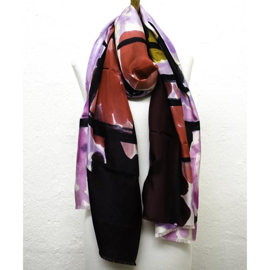 Directions End Of The Road Silk Scarf