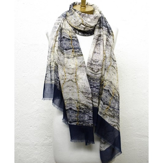 Directions Marble Halls Cotton Modal Scarf